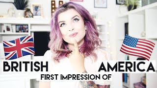 British First Impression of America