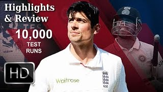 ENG vs SL 2016: 2nd Test, Day 5 | Alastair Cook Reaches 10,000 Test Runs | Highlights & Review