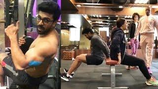 Ram Charan & Upasana workouts together- Compilation vi..