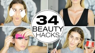 34 Stupidly Simple Beauty Hacks Every Girl Needs To Know!
