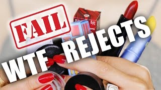 WTF MAKEUP REJECTS ... FAIL
