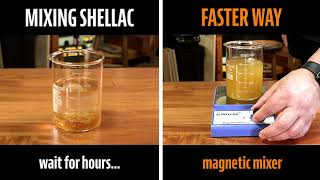 Watch the Trade Secrets Video, The Fastest and Easiest Way to Mix Fresh Shellac