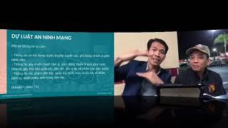 Thông Qua Luật An Ninh Mạng -Bịt Miệng Dân Việt Như Trung Quôc -Trương Quốc Huy