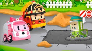 Poli Robocar - car cartoons for children | Police car cartoon - cartoon games