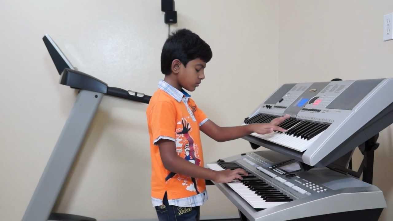 """""""Kaho Na Pyar Hai"""" on Keyboard by Vishwaraj Vinayakumar ..."""