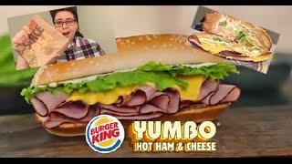 Burger King's Yumbo Ham Sandwich Review!