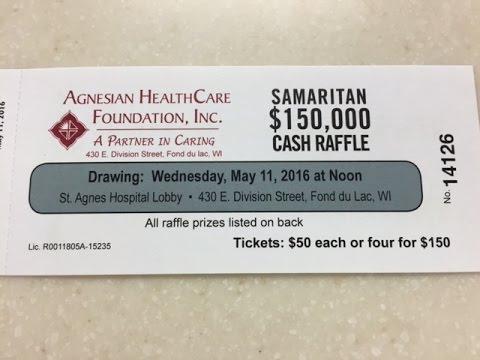 2016 Samaritan Cash Raffle Drawing