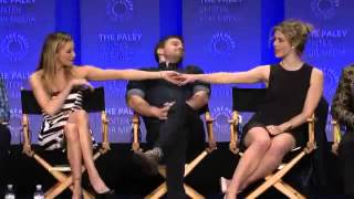 Arrow at PaleyFest 2015   Katie Cassidy and Emily Bett Rickards talk about Laurel and Felicity