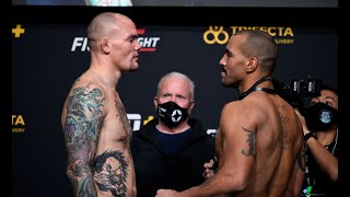 UFC Vegas 15: Weigh-in Faceoffs