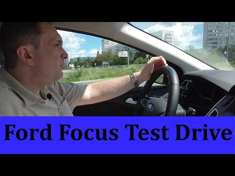 Ford Focus 2015 Test Drive .