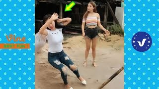 Funny Videos 2018 ● Top cute girl doing funny things P1