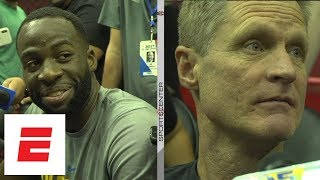 Draymond Green and Steve Kerr react to LeBron James recalling play with photographic memory | ESPN