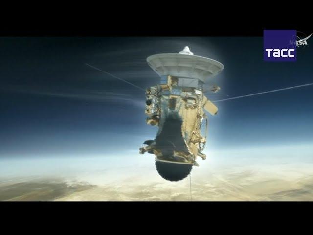 Станция Cassini cгорела в атмосфере Сатурна