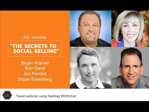 The Secrets to Social Selling Webinar