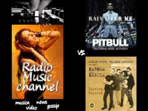Pitbull - Rain Over Me (Ft. Marc Anthony) vs. Karosa feat. kledia - Burning passion