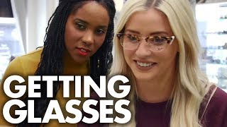 Lily Gets Glasses for the First Time! (Beauty Trippin)