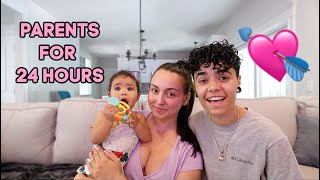 BECOMING PARENTS FOR 24 HOURS!