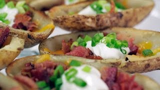 How to Make TGI Friday's Loaded Potato Skins at Home