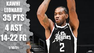 Kawhi Leonard's 35 points lift Clippers over Bulls [HIGHLIGHTS]   NBA on ESPN