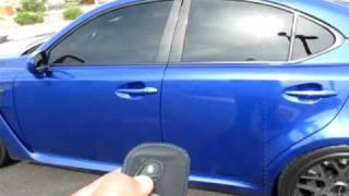 Lexus ISF Twin Turbo In Car Drive Loud Revs SICK!!