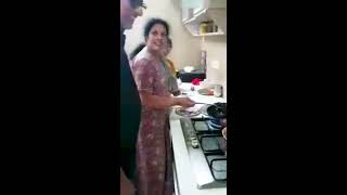 Daggubati Purandeswari couple cooks 'Dum Biryani'- Special..