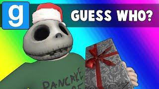 Gmod Guess Who Funny Moments - Stomping on the Nogla Bug! (Garry's Mod Christmas)