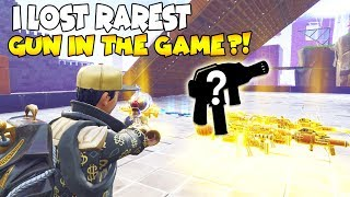 I Lost The Rarest Gun in The Game 😱 Must Watch (Scammer Gets Scammed) Fortnite Save The World