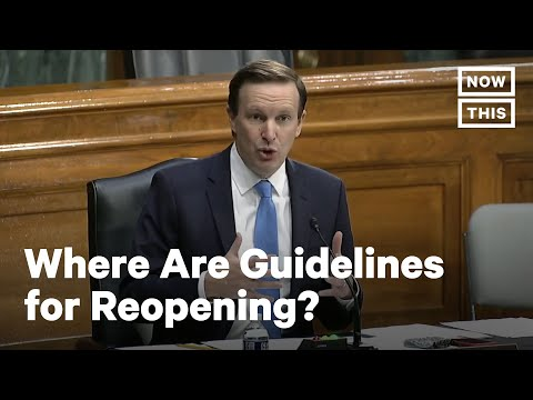 Sen. Chris Murphy VS. CDC's Dr. Redfield On Reopening Guidelines | NowThis