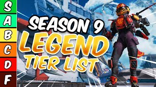 Ranking Every Legend Worst To Best In Season 9 - Apex Legends Legacy