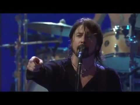 "Dave Grohl - pissed because of a ""fan\"" fight. uncensored. iTunes Festival"