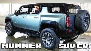 Checking out the Electric Hummer SUV! Is it any good?