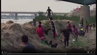 العراق.. مشاهد متداولة لـ quotلحظة قنص متظاهرquot قرب جسر الجمهورية ...