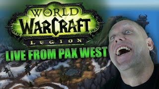Swifty Explores WoW Legion and PvP LIVE at Pax West 2016 #2