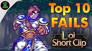 Unsere TOP 10 FAILS der letzten Monate! :D | League Of Legends Clip