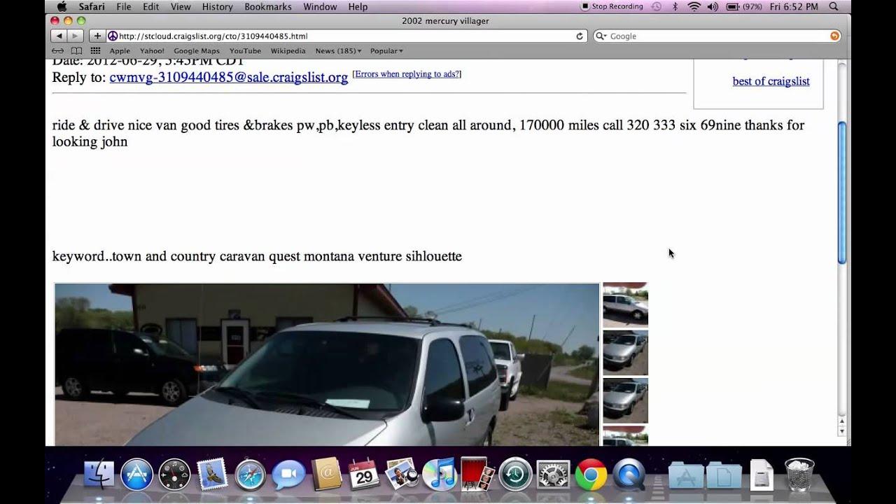 Craigslist St Cloud MN - Used Cars, Trucks, Vans and SUVs ...