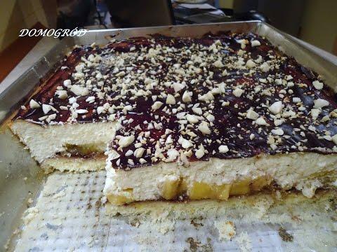 Puszysty sernik z brzoskwiniami - super przepis