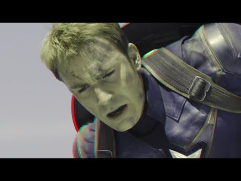 Avengers : Age of Ultron - Clip (2015)(3D)(Side By Side) Sokovia Falls
