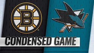 02/18/19 Condensed Game: Bruins @ Sharks