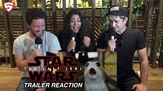 Star Wars: The Last Jedi Trailer (Official) Reaction and Review