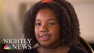 Martin Luther King Jr.'s 10-Year-Old Granddaughter Says She Has A Dream, Too | NBC Nightly News
