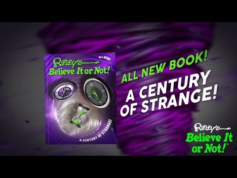VIDEO: A sneak peak of what's inside the newest book from Ripley's Believe It or Not! (Credit: Ripley Publishing)