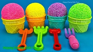 Play Foam Ice Cream Cups Kinder Surprise Eggs Disney Friendz Toy Story Chupa Chups PJ Masks Catboy