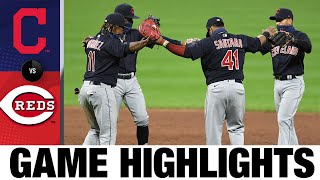 Shane Bieber, Franmil Reyes lead Indians past Reds | Indians-Reds Game Highlights 8/4/20