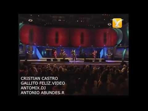 CRISTIAN CASTRO GALLITO FELIZ CUMBIA VIDEO HD ANTROMIX.A.A.R