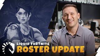 Liquid Fortnite Roster Update | TL Fortnite