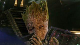 """Groot Put That Thing Away"" Scene - Avengers Infinity War (2018) Movie Clip HD [1080p 50FPS]"