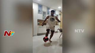 Shreyas Iyer accepted 'The PushUp' challenge given by Hard..