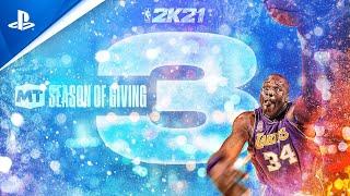 NBA 2K21 - MyTEAM Season 3: Season of Giving | PS5, PS4