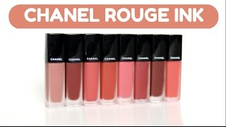 [SWATCH + REVIEW] CHANEL ROUGE ALLURE INK