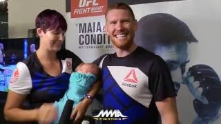 UFC on FOX 21: Sam Alvey's Wife Discusses 'Business' Relationship